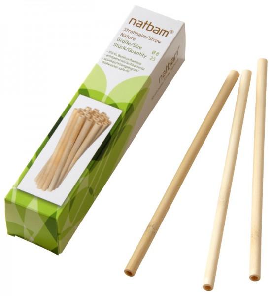 Bambusstrohhalme 'Nature'*
