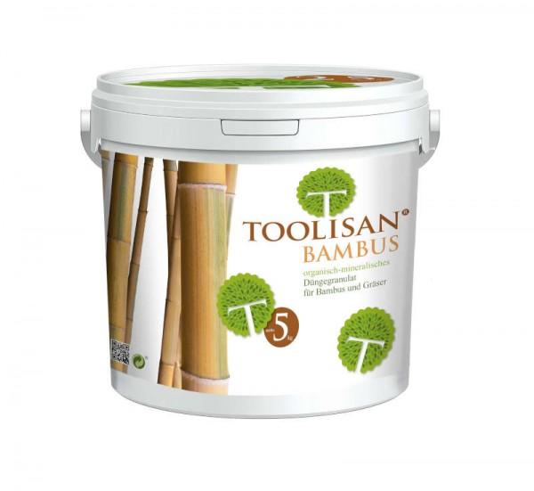 Bambusdünger Toolisan® 5 kg-Eimer