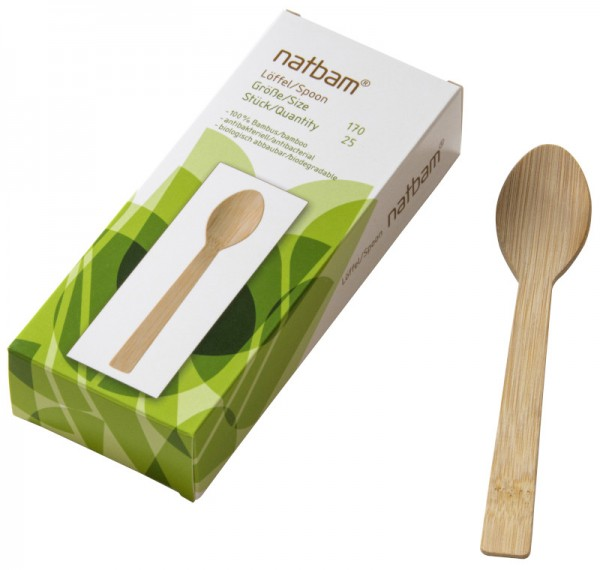 Bambuslöffel*