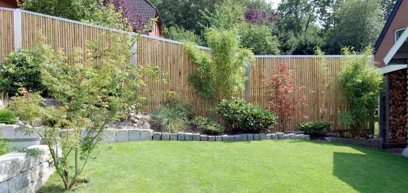 Bambuszaun Oder Sichtschutzzaun Nicht Nur Fur Stylische